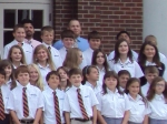 Some of this year's new sixth graders.
