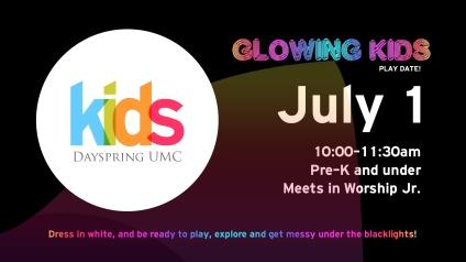 Glowing Kids