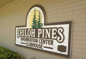 Shiloh Pines sign