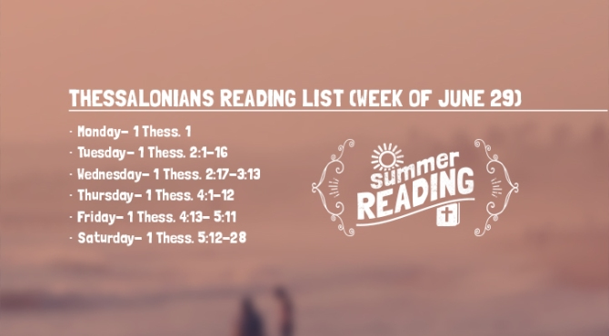 Summer Reading List Week 5